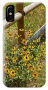 Black Eyed Susans In A Wildflower Meadow IPhone Case