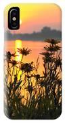 Black-eyed Susans Sunrise IPhone Case