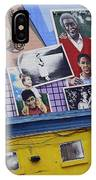Black Family Reunion Mural IPhone Case