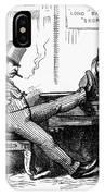 Black Friday Cartoon, 1873 IPhone Case