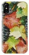 Black Grapes IPhone Case