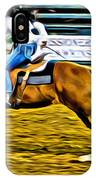 Black Hatted Racer IPhone Case