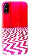 Black Lodge Magenta IPhone Case