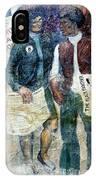 Black Panther Mural Berkeley Ca1977 IPhone Case
