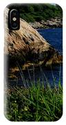 Black Point IPhone Case
