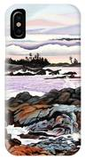 Black Rock View IPhone Case