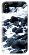 Black Rocks Along The Puna Coast IPhone Case