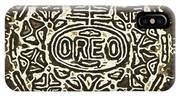 Black Sepia Oreo IPhone Case