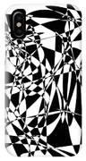 Black Stroke IPhone Case