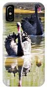Black Swan 1 IPhone Case
