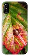 Blackberry Leaf In The Fall 4 IPhone Case