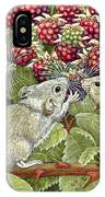 Blackberrying IPhone Case