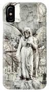 Blackbird On Angel Cross IPhone Case