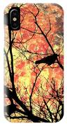 Blackbirds In A Tree IPhone Case