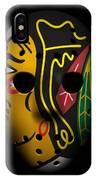 Blackhawks Goalie Mask IPhone Case