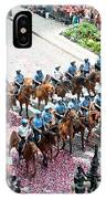 Blackhawks Parade Mtd Police IPhone Case