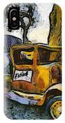 Blackjack Winery Truck Santa Ynez California IPhone Case