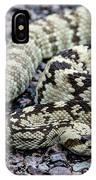 Blacktailed Rattlesnake IPhone Case