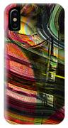 Blades In The Layered Worlds IPhone Case