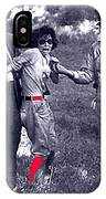 Blanche Barrow Captured July 24 1933 Dexfield Park Missouri  IPhone Case