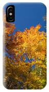 Blazing Autumn Colors - Just Lift Your Head IPhone Case