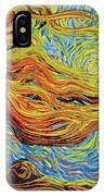 Blazing In The Light IPhone Case