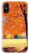 Blazing Tree IPhone Case