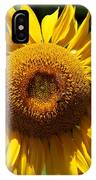 Blazing Yellow Sunflower IPhone Case