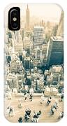 Bleached Manhattan IPhone Case