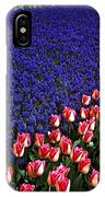 Blend Of Tulips IPhone Case