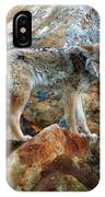 Blending In Nature IPhone Case