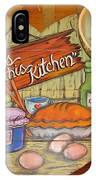 Bless This Kitchen IPhone Case