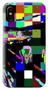 Blocked Scream IPhone Case