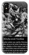 Blocks And Tackles Vintage Sketch IPhone Case