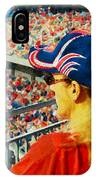 Blonde At The Ballgame IPhone Case