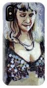 Blonde Bellydancer IPhone Case