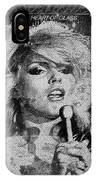 Blondie - Heart Of Glass IPhone Case