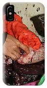 Blood Work Fish IPhone Case