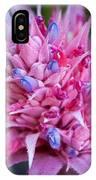 Blooming Bromeliad IPhone Case