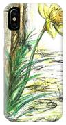 Blooming Daffodil IPhone Case