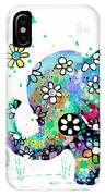 Blooming Elephants IPhone X Case