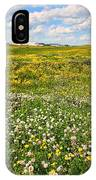 Blooming Fields IPhone Case