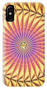 Blooming Seasons Kaleidoscope IPhone X Case