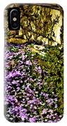 Blooms Beside The Steps IPhone Case