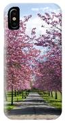 Blossom Lined Walk IPhone Case