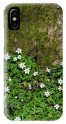 Blossom Windflowers IPhone Case