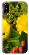 Blossom Yellow Gerbera IPhone Case