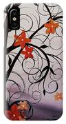 Blossoms Of The Orient IPhone Case