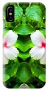 Blowing In The Breeze Mirror Image IPhone Case