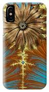 Blue And Brown Synergy IPhone Case